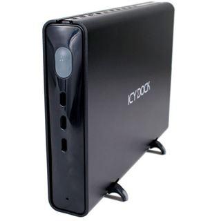 IcyDock 8,9cm USB/eSATA Gehäuse ext