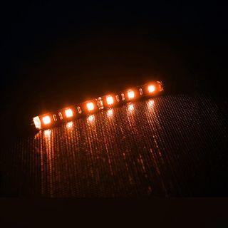 BitFenix 12cm oranger LED-Strip mit 6 LEDs für Gehäuse