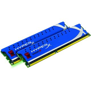 8GB Kingston HyperX DDR3-1600 DIMM CL9 Dual Kit
