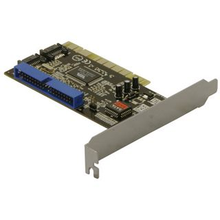 Good Ceonnections PCI Controller Karte 2 x S-ATA, 1 x IDE