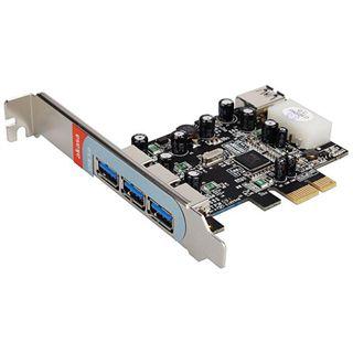 Akasa AK-PCCU3-03 4 Port PCIe x1 retail