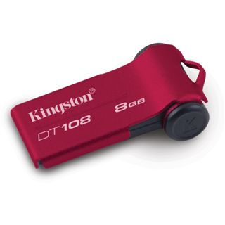 8 GB Kingston DataTraveler 108 rot USB 2.0