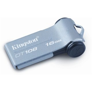 16 GB Kingston DataTraveler 108 grau USB 2.0