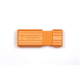 8 GB Verbatim Store `n` Go PinStripe orange USB 2.0