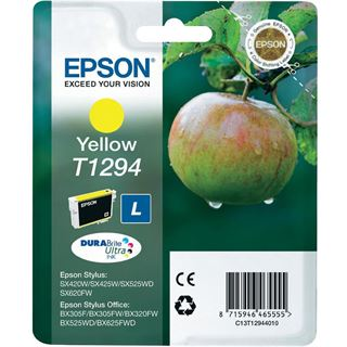 Epson T1294 Tintenpatrone gelb hohe Kapazität 7ml 1er-Pack