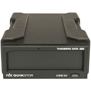 Tandberg Data RDX Drive USB3.0 extern schwarz inkl. AkkuGuard