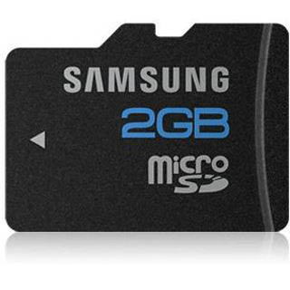2 GB Samsung Kit Essential microSDHC Class 4 Bulk inkl. Adapter
