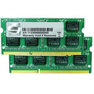8GB G.Skill SQ Series DDR3-1333 SO-DIMM CL9 Dual Kit