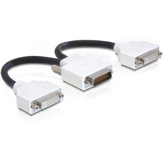 Delock DMS-59 Stecker Adapter für 2x DVI (65281)