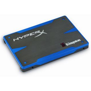 "120GB Kingston HyperX SSD 2.5"" (6.4cm) SATA 6Gb/s MLC synchron"