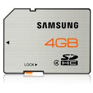 4 GB Samsung Essential SDHC Class 4 Retail