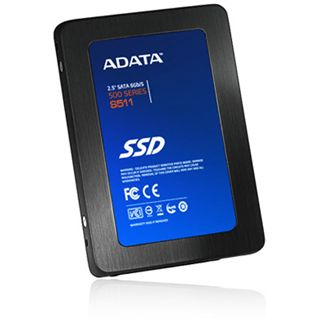 "480GB ADATA S511 2.5"" (6.4cm) SATA 6Gb/s MLC synchron (AS511S3-480GM-C)"