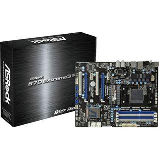 ASRock 870 Extreme3 R2.0 AMD 870 So.AM3+ Dual Channel DDR3 ATX Retail