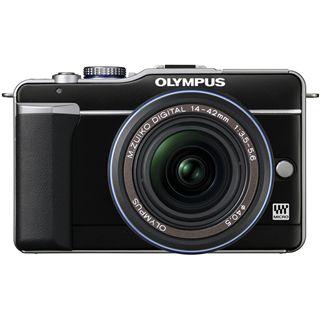 Olympus E-PL1 black + EZ-M1442L black + EZ-M4015 black DZK