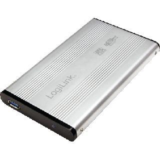 "LogiLink UA0106A 2.5"" (6,35cm) USB 3.0 silber"