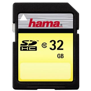32 GB Hama High Speed Gold SDHC Class 10 Retail