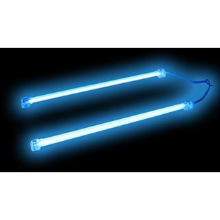 Revoltec Kaltlichtkathode Twin Set 2x Blau 100mm