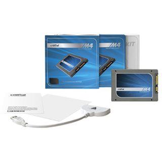 "256GB Crucial m4 Transfer Kit 2.5"" (6.4cm) SATA 6Gb/s MLC"