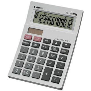 Canon AS-120RI POCKET CALCULATOR