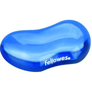 Fellowes GmbH Crystal Gel Flex Blau Handballenauflage für