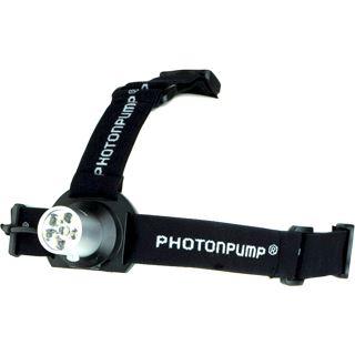 Zweibrüder Photonpump LED Kopflampe E41, schwarz