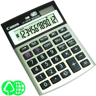 Canon LS120TSG Calculator