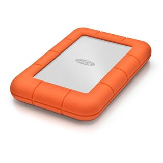 "500GB LaCie Rugged Mini 301556 2.5"" (6.4cm) USB 3.0 silber/orange"