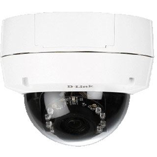 D-Link Outdoor Security-Kamera Dome IR POE