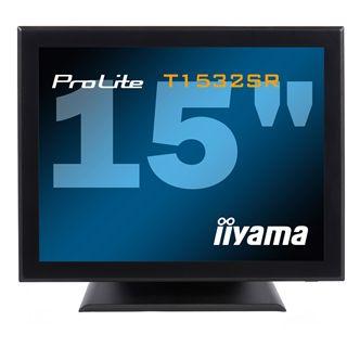 """15"""" (38,10cm) iiyama ProLite T1532SR Touch schwarz 1024x720"""