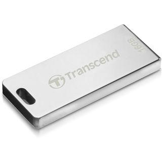 16 GB Transcend JetFlash T3S silber USB 2.0