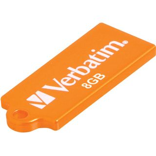 8 GB Verbatim Store `n` Go Micro orange USB 2.0