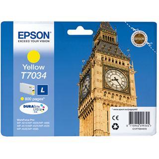 Epson Tinte C13T70344010 gelb