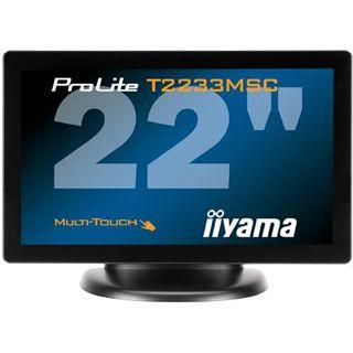 "21,5"" (54,61cm) iiyama ProLite T2233MSC-B1 schwarz 1920x1080"