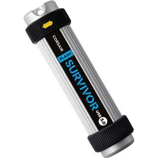 16 GB Corsair Flash Survivor schwarz/silber USB 3.0
