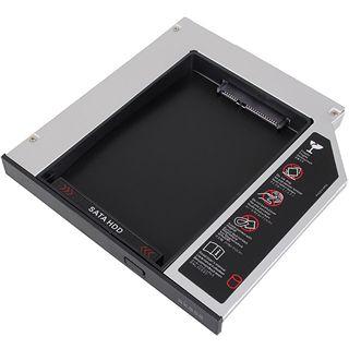 Akasa 2,5 Zoll SATA HDD to Laptop IDE ODD Bay