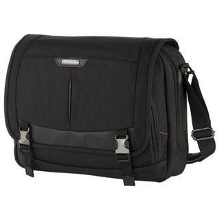 """Samsonite Pro-DLX³ Laptop Messenger 16"""", schwarz"""