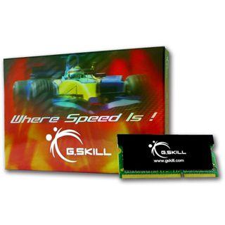 4GB G.Skill SK Series DDR3-1600 SO-DIMM CL9 Single