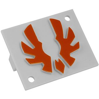 BitFenix Badge orange Logo für Shinobi (BFC-SNB-150-OLOG-SP)