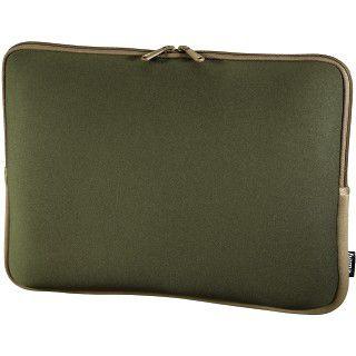 Hama Netbook-Sleeve Neoprene, Displaygrößen bis 30 cm (11,6), Grün/Braun
