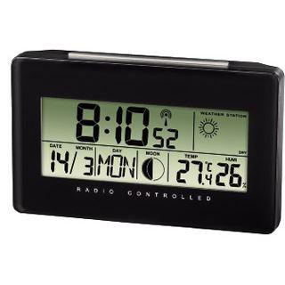 Hama Thermo-/Hygrometer TH500, Schwarz