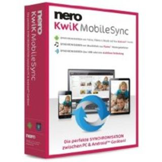 Nero Kwik Mobile Sync 32 Bit Deutsch Brennprogramm Vollversion PC (DVD)