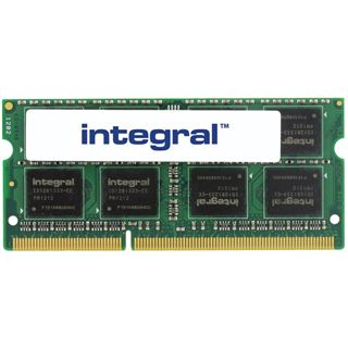 4GB Integral Memory Laptop DDR3-1333 SO-DIMM CL9 Single