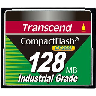 128 MB Transcend Industrial Ultra Compact Flash TypI 200x Retail