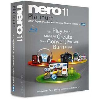 Platinum Nero 11.0 Platinum 32/64 Bit Multilingual Brennprogramm FPP