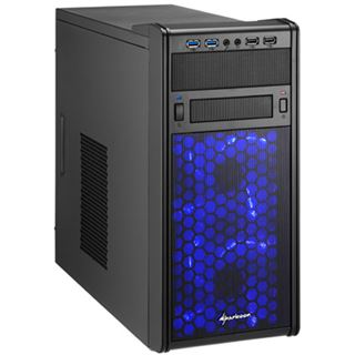 Sharkoon MS120 Mini Tower ohne Netzteil schwarz