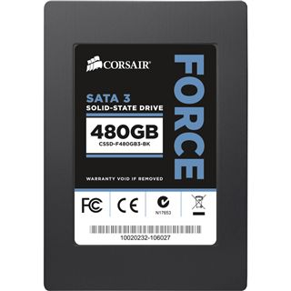 "480GB Corsair Force 3 Series 2.5"" (6.4cm) SATA 6Gb/s MLC asynchron (CSSD-F480GB3-BK)"