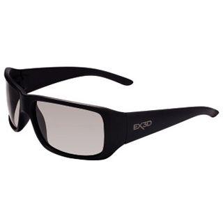 Hama EX3D Polfilterbrille, 5002 sportlich, Schwarz