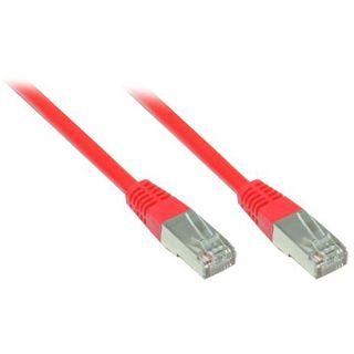 7.50m Good Connections Cat. 5e Patchkabel FTP RJ45 Stecker auf RJ45 Stecker Rot