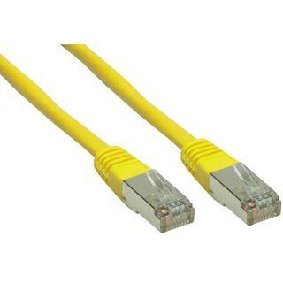 70.00m Good Connections Cat. 6 Patchkabel S/FTP PiMF RJ45 Stecker auf RJ45 Stecker Gelb