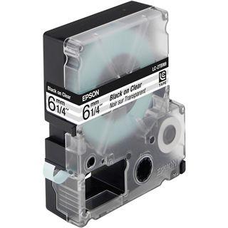 Epson C53S623403 Tape 6mm Transparentfolie - Schwarz auf Transparent